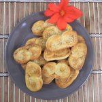 Palmiery krucho-francuskie z cukrem i cynamonem