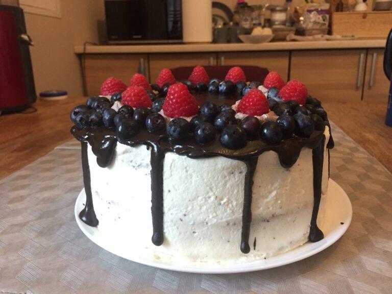 tort w stylu drio cake pierwszy