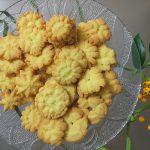 Kruche ciasteczka wyciskane (maszynkowe)