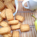 Kruche ciasteczka maszynkowe