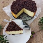 Sernik na piernikowym spodzie - ciasto idealne na święta