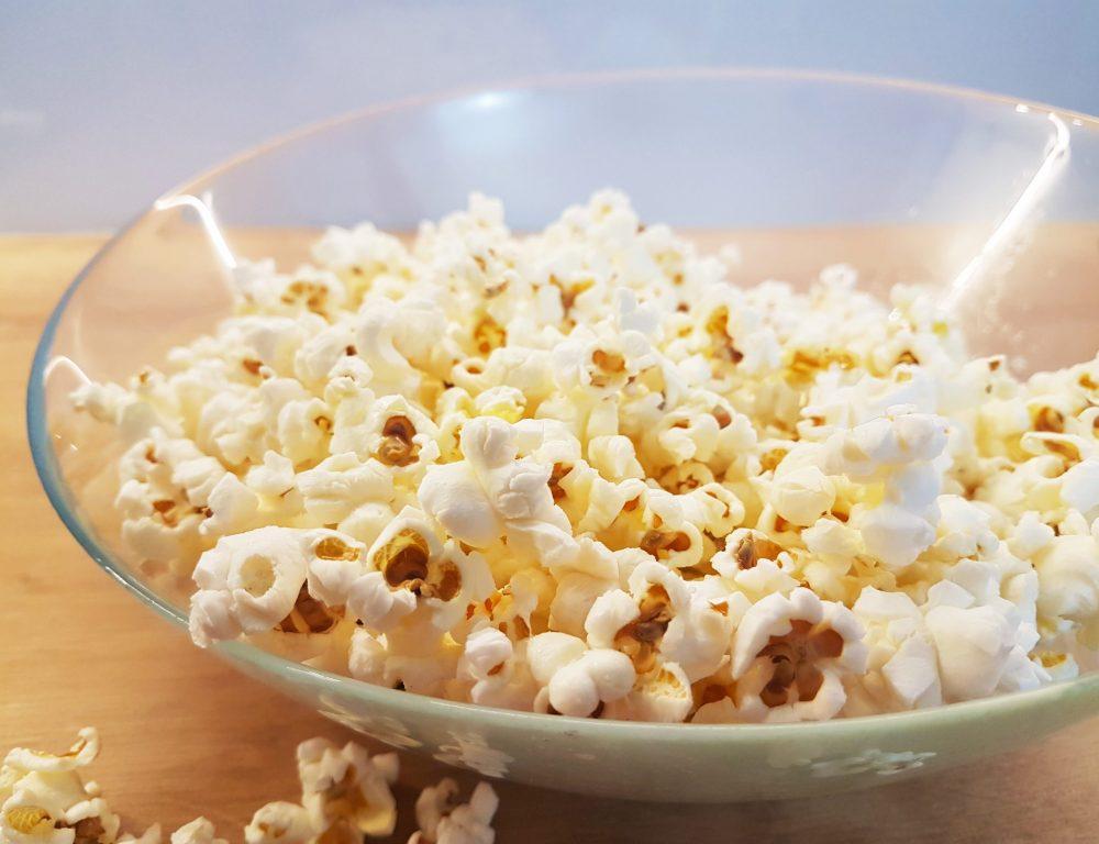 popcorn w domu