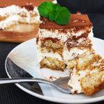 Błyskawiczne tiramisu bez jajek - ciasto bez pieczenia