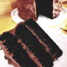 Tort czekoladowy - najlepsze ciasto czekoladowe z kremem, wilgotne i intensywnie czekoladowe